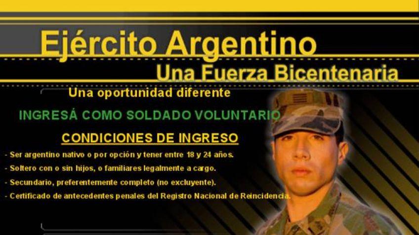 Abren ingreso al servicio militar voluntario
